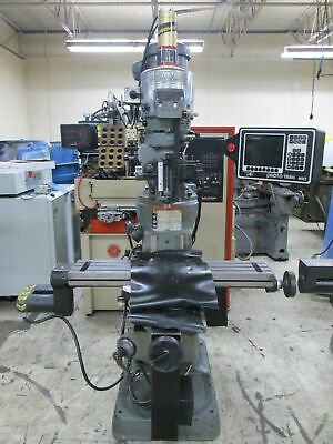 "Bridgeport Series 1 Variable Speed 42"" Table 2-Axis CNC Mill W/Trak MX2 Control"