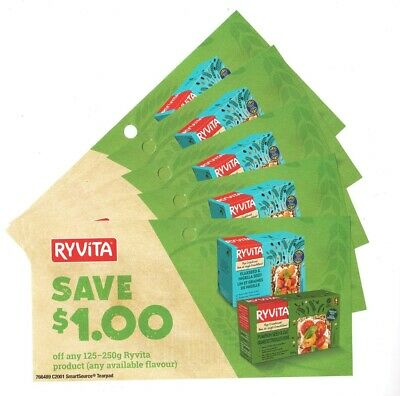 14 x Save $1.00 on Ryvita Product Coups (Canada)