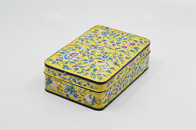 Antique Chinese Export Enamel box, 5 x 3.5 x 1.5 inches - 🐘