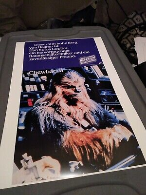 Star Wars Chewbacca with Surfboard 24x36 Poster Art Chewy Beach Holiday Surfing