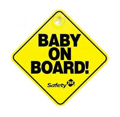 Baby On Board Safety 1st Suction Cup Car Sign