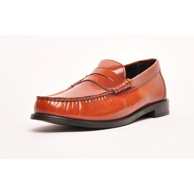 BASE LONDON MENS FLORIN DERBY LEATHER SHOE  WAXY BROWN  ALL SIZES