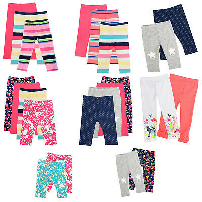Pack of 10 Assort Children Baby Cotton Leggings Girl Toddler Bottom 6mo~5yr