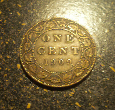 1909 Canada Large Cent - P1909-11