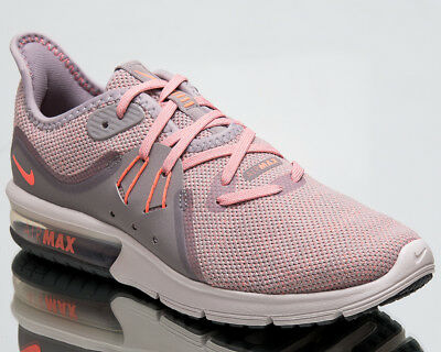 NIKE AIR MAX Sequent 3 Femmes Chaussures Course Rose Taille