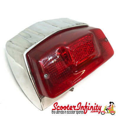 Rear Light Unit (Polished Alloy) (Lambretta GP)