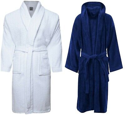 #100% Cotton Bath Robe NightWear Toweling Dressing Gown christmas gift