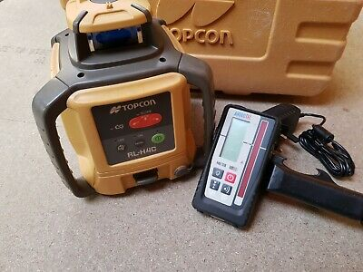 Topcon RL-H4C Rotating Laser Level With MM Receiver