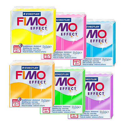 FIMO EFFECT 57G Modelling Clay - Choose From 30 Different Types ...