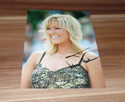 Helene Fischer, Originale Firmato Photo 13x18 cm, Sexy