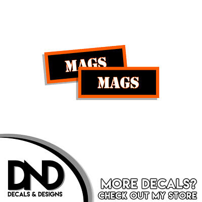 """Details about  /RIFLE Ammo Can RIFLE Labels Ammunition Case 3/""""x1.15/"""" stickers decal 4 pack BLYW"""
