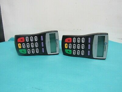 Lot Of 2 VeriFone PINpad 1000SE Credit Card Payment Terminals P003-180-R-2