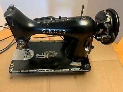 1904 Singer 99k Sewing Machine Rare  Used Condition made in Scotland Clydebank
