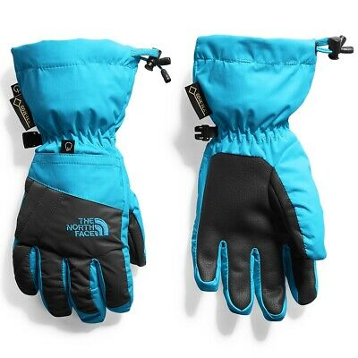 NEW The North Face Youth MONTANA Gore-Tex Gloves Blue