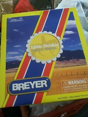 New Doll And Horse - Little Debbie Special Addition Breyer Collector