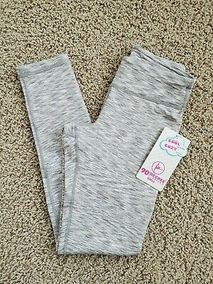 NWT 90 Degree by Reflex COZY LEGGING Active/Athletic GRAY Girls L/LARGE/12 $38