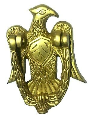 Golden Eagle Antique Vintage Finish Handmade Solid Brass Door Knocker Home Decor