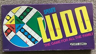 Spear`s Snakes & Ladders & Ludo Board Game.