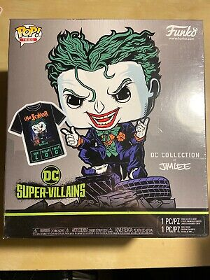 Funko Pop & Tee - Jim Lee The Joker - New Sealed - L Large Sealed