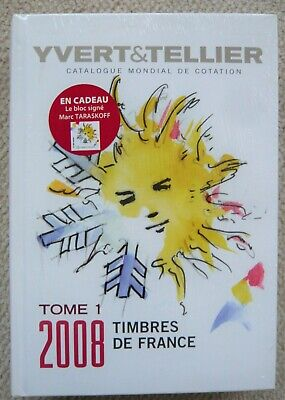 Neuf Sous Blister! Catalogue Yvert & Tellier Tome 1 2008 Timbres De France