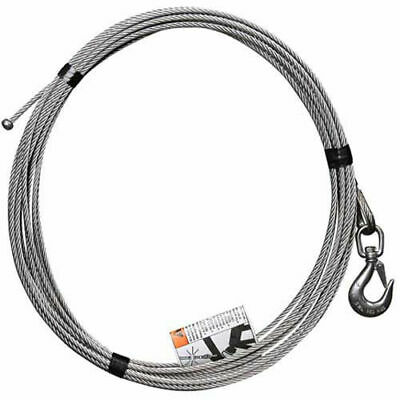 """OZ Lifting 1/4"""" Stainless Steel Cable Assembly-COMPOZITE Davit Crane"""