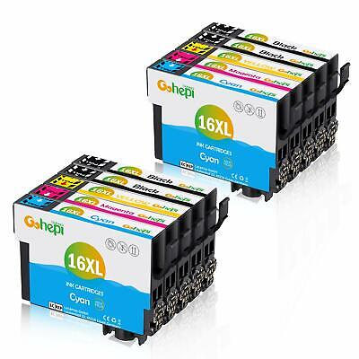 Gohepi 163Xl Cartucce Compatibili Epson 16 16Xl Per Workforce Wf 2630