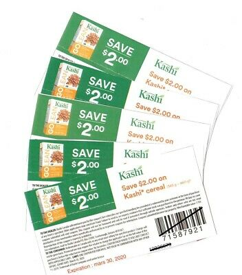 Save $18.00 on Kashi Products NEW Coupons (Canada)
