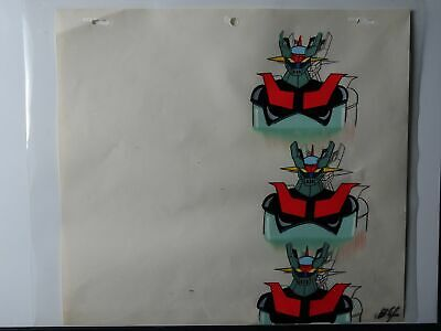 Mazinger Z / Tranzor Z Animation Production Cel - 400