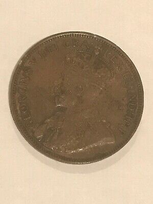 1918 CANADA ONE CENT PENNY 🇨🇦 Canadian Coinage WWI Era Nice!
