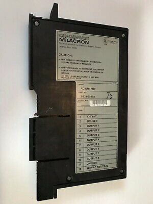 Cincinnati Milacron AC Output - 3-531-3839A - USED Working