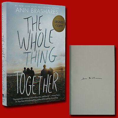 The Whole Thing Together by Ann Brashares (2017,HC,1st/1st) SIGNED BRAND NEW