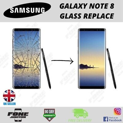 Samsung Galaxy Note 8 N950F LCD/ Cracked Glass Screen Repair Replacement Service