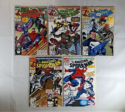 NEAR MINT NOVA* AMAZING SPIDER-MAN # 357 PUNISHER