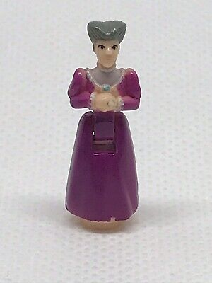 🦉Polly Pocket figure from Cinderella Enchanted Castle  - Stepmother