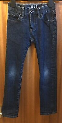 Boys GAP Authentic Skinny Jeans Age 7 Excellent Condition