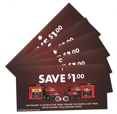 14 x Save $1.00 Folgers Coffee Product Coups (Canada)