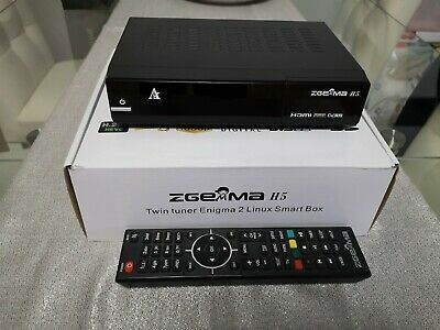 Decoder ZGemma H5 H265 1xDVB-T2 1xDVB-S2 Combo Linux Enigma 2