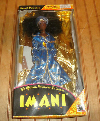1994 IMANI AFRICAN AMERICAN PRINCESS DOLL OLMEC TOYS as is