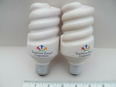 CFL Light Bulb Stress Ball TouchStone Squeezable Stress Relievers Squeeze Ball