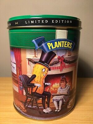 1997 Planters Peanuts Limited Edition Canister Tin