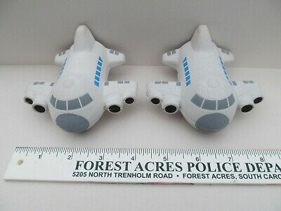 OIA AirPlane Stress Ball Global Logistics Squeezable Stress Relievers Squeeze
