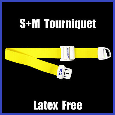 Occlusion Tourniquet - S+M Medical Injection tourniquets Training Band With Clip