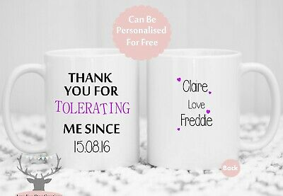 Personalised Coffee Cup/Mug - Valentine's Day, Birthday Gift, His , Hers Cup