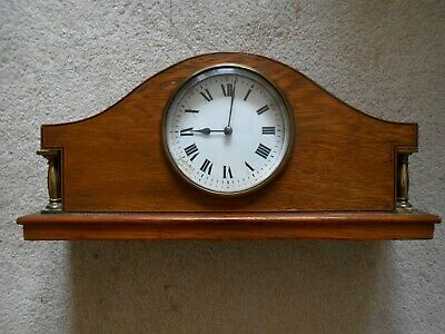 French Movement Mantle Clock with Platform Escapement.
