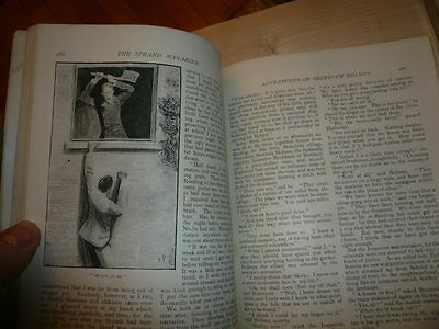 Sherlock Holmes 1st Edition single issue Oct 1892 NO COVERS The Engineers Thumb