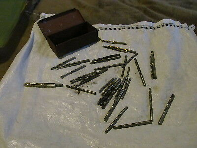 Huge Lot Of Assorted Medium Thickness Drill Bits & Chucks Of All Kinds & Sizes