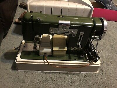 White Sewing Machine Vintage