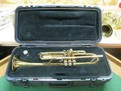 Bach TR300 Trumpet - Rebuilt & Ready, Well Used - Case and Bach 5C Mouthpiece