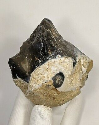 Middle Palaeolithic Hand Axe on a Flint Nodule c300k-200k