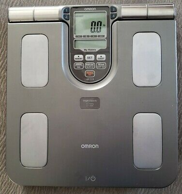 Omron HBF-514 Full Body Composition Sensing Monitor and Scale.